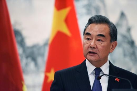 왕이 중국 국무위원 겸 외교부장. /사진=로이터