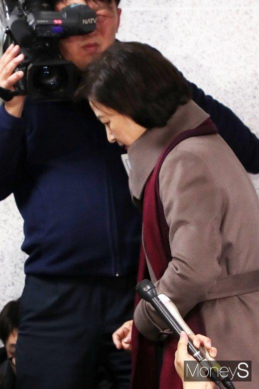 [머니S포토] 검찰-사법개혁 기치 든 추미애 법무부 장관 내정자