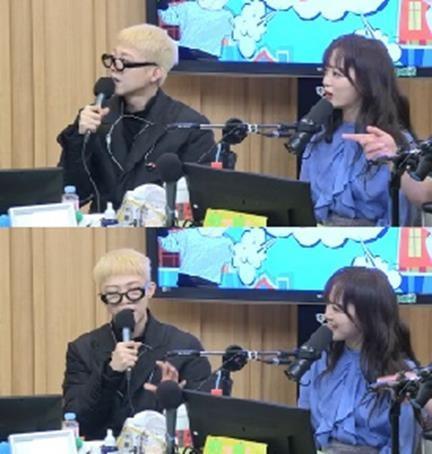 기리보이와 세정. /사진=SBS '보이는라디오' 방송화면 캡처