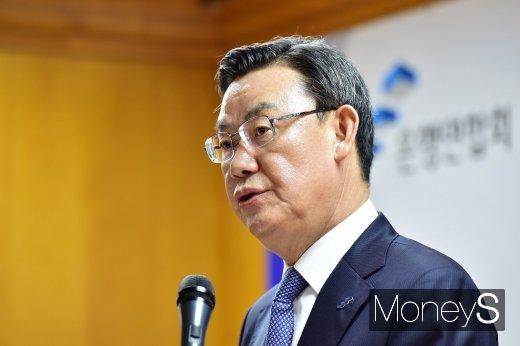 김태영 은행연합회장/사진=임한별 기자