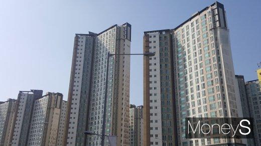 김포시내 한 아파트 단지. /사진=김창성 기자