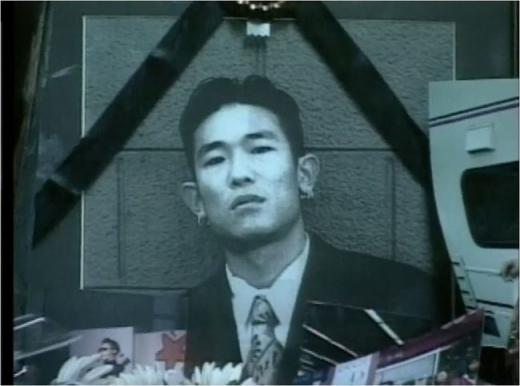 가수 고 김성재. /사진=SBS 제공
