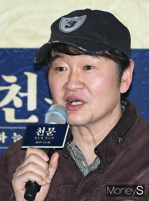 [머니S포토] 영화 '천문' 허진호 감독
