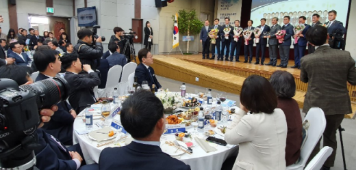 20일 경기도의회 대회의실에서 '2019년 경기도의회 의원종무식'을 가졌다. / 이하 사진제공=경기도의회