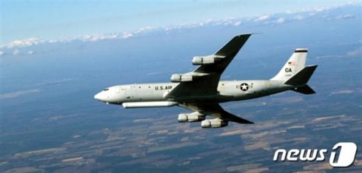 미 공군의 정찰기 E-8C 조인트 스타즈(JSTARS) / 미 공군 제공=뉴스1