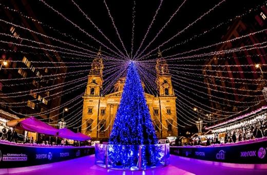 헝가리 부다페스트 크리스마스 마켓. /사진=와그 제공