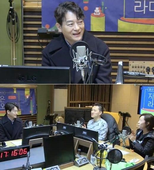 배우 조성하. /사진=MBC 표준FM '정선희, 문천식의 지금은 라디오 시대' 캡처)