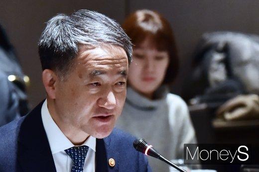 """[머니S포토] 박능후 장관 """"국민연금기금 주주활동 가이드라인 심의·의결 할 것"""""""