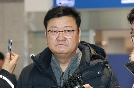'울산시장 경선 의혹' 임동호, 검찰 3차 소환(속보)