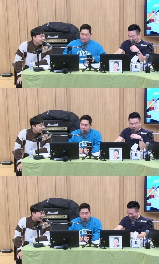 이상준 문세윤 김태균. /사진=SBS 보이는라디오 방송화면 캡처