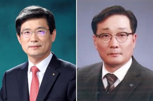 이창재(왼쪽)·이창하 우리자산신탁 신임 공동 대표/사진=우리금융