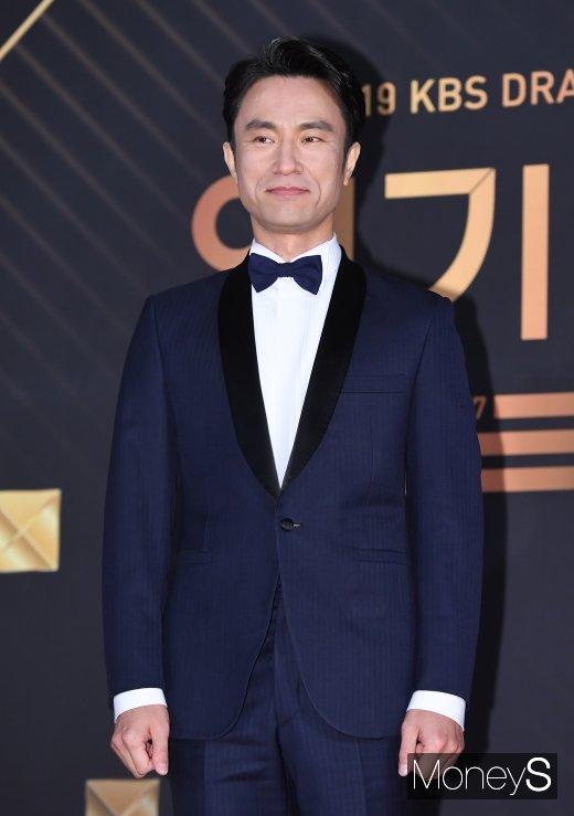[머니S포토] 김병철, 믿고 보는 신스틸러(KBS 연기대상)