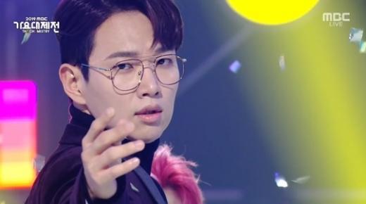 장성규. /사진=2019 MBC 가요대제전 방송 캡처