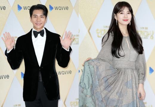 배우 이승기(왼쪽)와 배수지. /사진=뉴스1