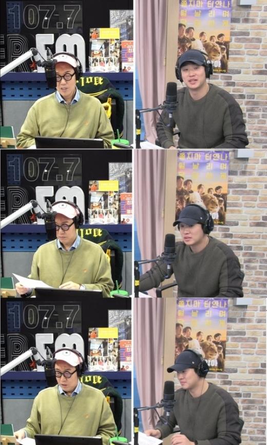 김영철 안재홍. /사진=SBS 보이는라디오 방송화면 캡처