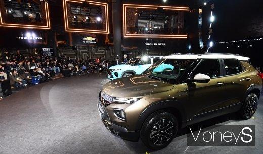[머니S포토] 국내 첫 공개된 차세대 SUV 쉐보레 트레일블레이저