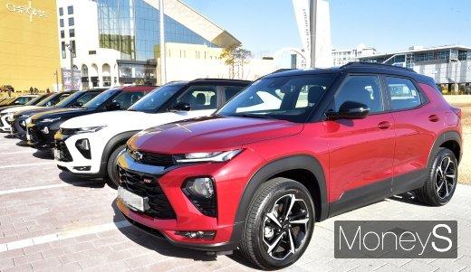 [머니S포토] 2020 첫해 차세대 SUV 발표한 '한국지엠'