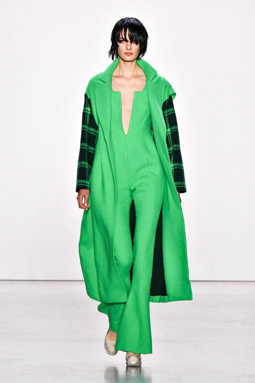 손정완 2020 F/W 뉴욕컬렉션, 50년대 패션의 재해석