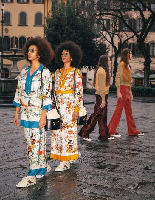 구찌, 구찌 테니스 1977 스니커즈 주제로 한 디지털 프로젝트 공개