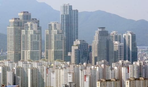 서울 강남일대 아파트 밀집 지역. /사진=뉴시스 DB