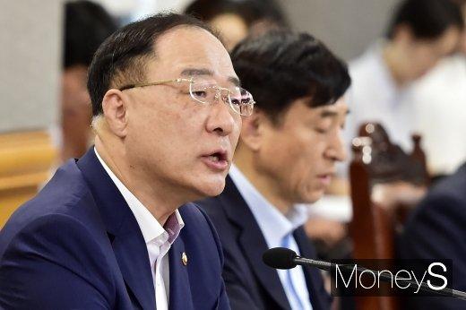 홍남기 경제부총리 겸 기획재정부 장관/사진=임한별 기자