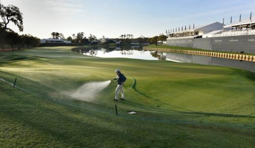 이달 초 PGA투어 더플레이어스 챔피언십이 열렸던 미 플로리다주 폰트 베드라 비치. /사진=로이터
