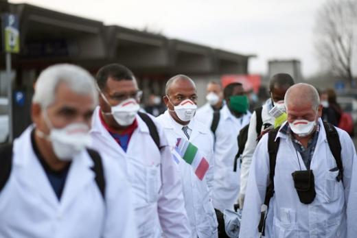 지난해 11월 이탈리아 북부에서 '알 수 없는 폐렴'이 유행했다는 사실이 전해졌다. /사진=로이터