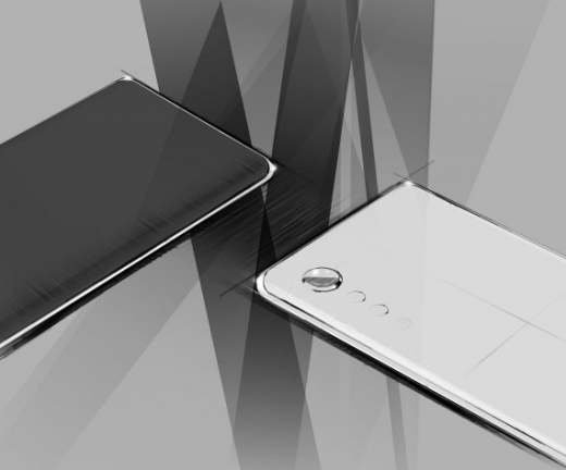 LG전자가 지난 9일 공개한 전략 스마트폰 렌더링 디자인 / 사진=LG전자