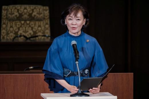 전날(16일) 일본 주간지 슈칸분순 최신호에 따르면 아키에 여사는 지난달 15일 일본 서남부 오이타 현 우사 시에 있는 신사 우사진구를 참배했다. /사진=로이터