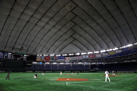 일본 프로야구 요미우리 자이언츠의 홈구장인 도쿄돔. /사진=로이터 뉴스1