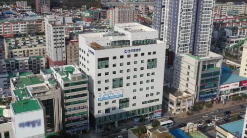 부산 128번 확진자가 세차례 방문한 부산 센트럴병원./사진=부산센트럴병원