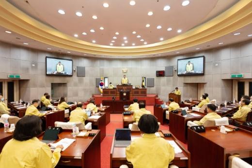 경기 시흥시의회(의장 김태경)가 20일부터 24일까지 5일간의 일정으로 제275회 임시회를 개회한다. / 사진제공=시흥시의회