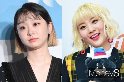 김다미, 안지영. /사진=임한별, 장동규 기자