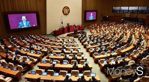 더불어민주당이 2차 추가경정예산안 신속 집행을 위해 미래통합당에 대승적 합의를 촉구했다. /사진=임한별 기자
