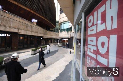 지난달 6일 서울 마포구 합정 메세나폴리스가 한산한 모습을 보이고 있다./사진=장동규 기자