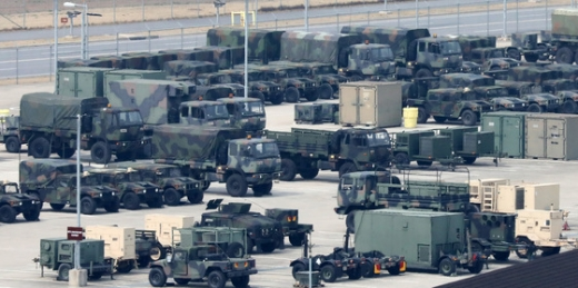 미국 국무부가 한미 방위비 분담금 협상에서 '한국 정부는 더 타협해야 한다'는 입장을 밝혔다. 사진은 지난 1일 오후 경기 평택시 캠프 험프리스. /사진=뉴스1