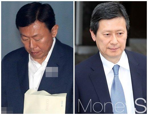신동빈 롯데그룹 회장(왼쪽)과 신동주 전 일본롯데홀딩스 부회장. /사진=뉴스1