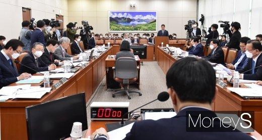 [머니S포토] 국회 외통위, 통일부 현안보고