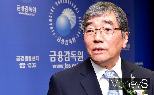 윤석헌 금융감독원장./사진=임한별 기자