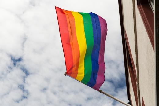 이날 질병관리본부 중앙방역대책본부에 따르면 A씨와 접촉한 것으로 파악된 인원은 총 57명이다. 사진은 동성애를 상징하는 무지개 깃발. /사진=로이터
