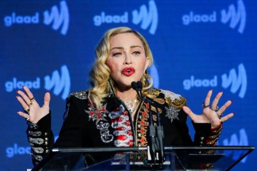 팝가수 마돈나가 코로나19에 걸렸었다고 고백했다. /사진=로이터