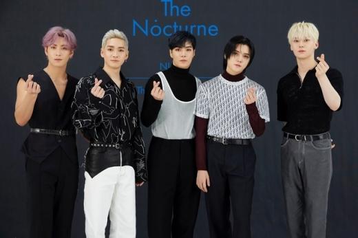 아이돌 그룹 뉴이스트가 11일 오후 6시 새 앨범을 발매했다. /사진=플레디스 엔터테인먼트 제공