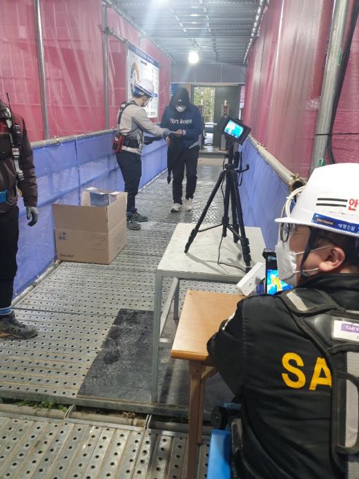 경기도시공사는 총 36개 건설현장, 건설노동자 총 3555명에 대한 코로나19 특별점검을 실시한 결과, 확진자 발생 없이 정상 추진되고 있다고 13일 밝혔다. / 사진제공=경기도시공사
