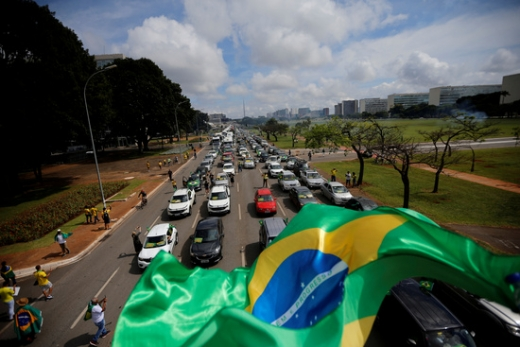 브라질에서 신종 코로나바이러스 감염증(코로나19) 사망자가 하루 사이 1179명 늘었다. /사진=로이터