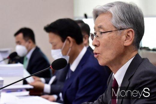 [머니S포토] 법안 상정하는 여상규 국회 법사위원장