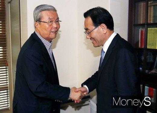 김종인 미래통합당 비상대책위원장 내정자가 22일 비대위원장직을 맡아달라는 당의 요청을 받아들였다. /사진=임한별 기자