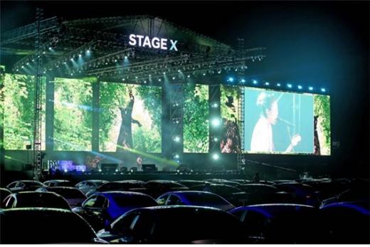 이달 22일부터 24일까지 현대모터스튜디오에서 STAGE X드라이브인 콘서트가 개최됐다./사진=현대차