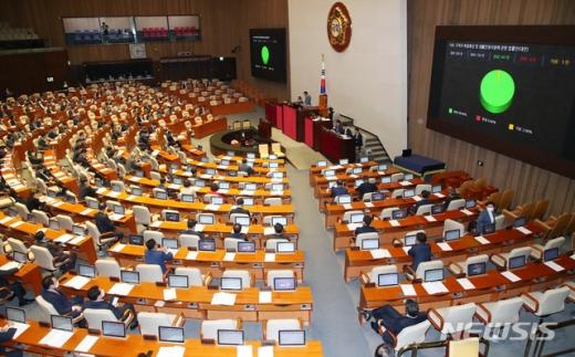국회 본회의장 모습/사진=뉴시스