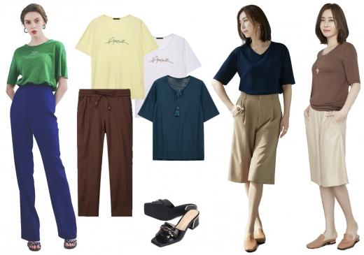 여름 패션 잇템, 티셔츠와 니트를 이용한 스타일링 - 머니S