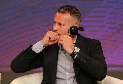 전 맨체스터 유나이티드 미드필더였던 라이언 긱스 웨일스 국가대표팀 감독. /사진=로이터